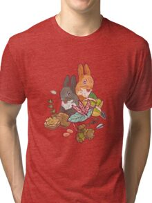 nuts and squirrels Tri-blend T-Shirt