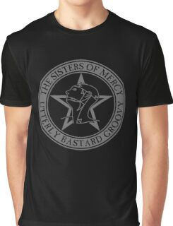 The Sisters of Mercy - The World's End - Utterly Bastard Groovy Graphic T-Shirt