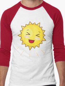 Cute Sunny Smile Men's Baseball ¾ T-Shirt