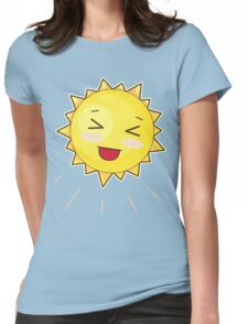 Cute Sunny Smile Womens Fitted T-Shirt