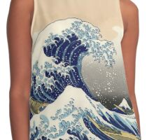 Great Wave of Kanagawa Contrast Tank