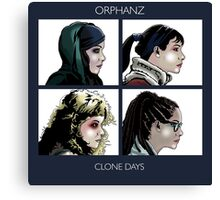 Clone Days Canvas Print