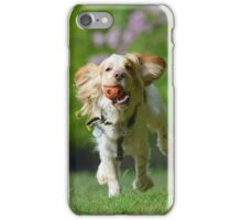 Cocker Spaniel Fetch iPhone Case/Skin