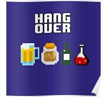 8 Bit Hangover Poster