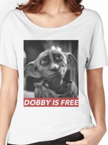 DOBBY  Women's Relaxed Fit T-Shirt