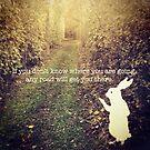 white rabbit by shann55