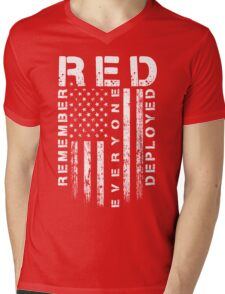 Red Friday - Remember Everyone Deployed Mens V-Neck T-Shirt