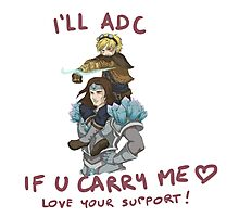 adc e support <3 v.5 Photographic Print