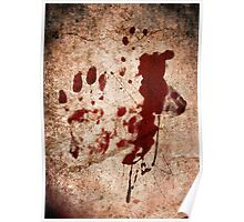 """""""Dexter"""" Tshirt - Hand with Blood Poster"""