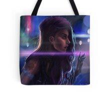 Cybergirl Tote Bag