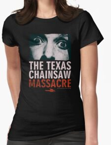 Texas Chainsaw Massacre Leatherface Womens Fitted T-Shirt