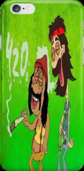 Cheech and Chong 4/20 Weed by leeewiis