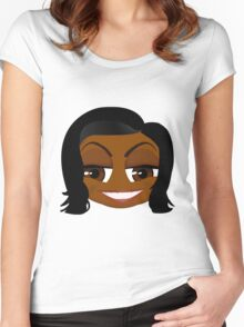 Mrs. Obama Women's Fitted Scoop T-Shirt