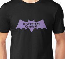 Milky Night Purple Bat 3 Unisex T-Shirt