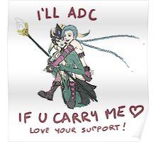adc e support <3 v.6 Poster