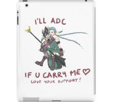adc e support <3 v.6 iPad Case/Skin