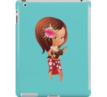 Ukulele girl iPad Case/Skin