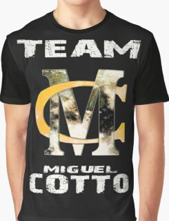 Team Miguel Cotto Graphic T-Shirt