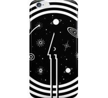 Through The Black Hole iPhone Case/Skin