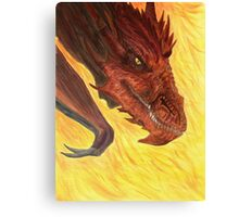 I Am Fire Canvas Print