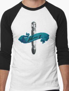 Sonic Screwdriver Allons-y Men's Baseball ¾ T-Shirt