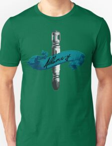 Sonic Screwdriver Allons-y Unisex T-Shirt