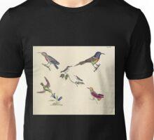 Naturgeschichte in Bildern mit erläuterndem Text E Strack 1820 Lief 2 Birds 046 Unisex T-Shirt