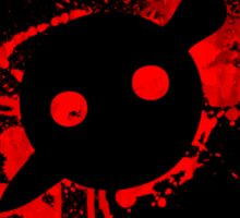 Knife party Bigger  Sticker