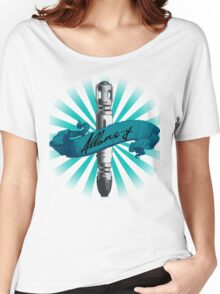 Sonic Screwdriver Allons-y Sun Burst -Doctor Who Women's Relaxed Fit T-Shirt