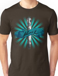 Sonic Screwdriver Allons-y Sun Burst -Doctor Who Unisex T-Shirt