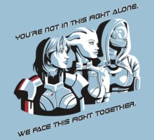 We face this fight together by Lucy Blundell