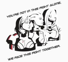 We face this fight together Kids Clothes