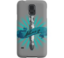 Sonic Screwdriver Allons-y Sun Burst -Doctor Who Samsung Galaxy Case/Skin