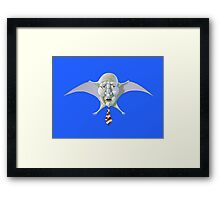 Classic Look Demon Framed Print