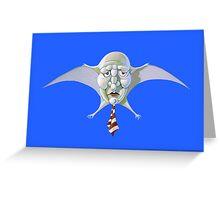 Classic Look Demon Greeting Card