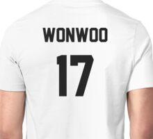 Seventeen Wonwoo Jersey Unisex T-Shirt