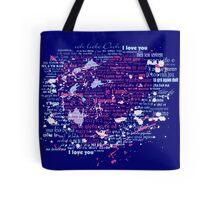 Multi-lingual Message of Love Tote Bag