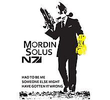Mordin Solus 007 Photographic Print