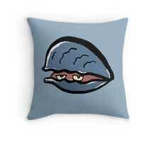clam Throw Pillow