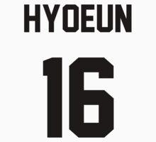 Stellar Hyoeun Jersey Kids Tee