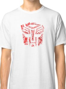 Transformers - Autobot Wordtee Classic T-Shirt