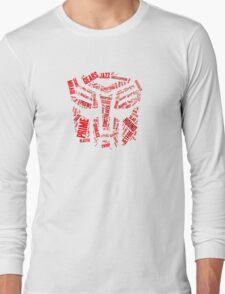 Transformers - Autobot Wordtee Long Sleeve T-Shirt