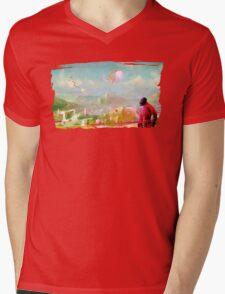 Pyroland Mens V-Neck T-Shirt