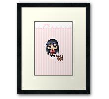 Chibi Sakaki Framed Print