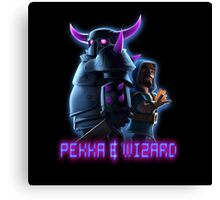 Pekka,Wizard,Clash Of Clans Canvas Print