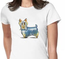 So Silky Terrier Womens Fitted T-Shirt