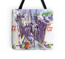 Evangelion #02 Tote Bag