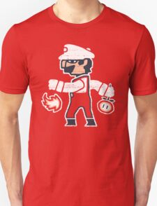 PLUMBER BETWEEN WORLDS Unisex T-Shirt