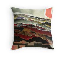 Layer by layer Throw Pillow
