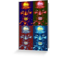 Ainsley Harriott Pop Art - Funny, Memes & Fashion Greeting Card